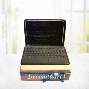 Droomtaart Laptop taart