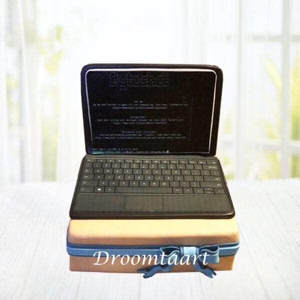 Laptop taart