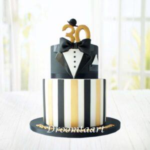 Droomtaart Leeftijd taart gentleman