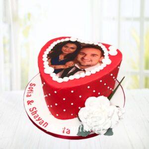 Droomtaart Liefdes taart met foto