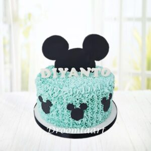 Droomtaart Mickey Mouse taart 1
