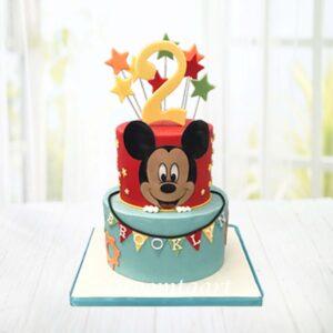 Droomtaart Mickey Mouse taart 3