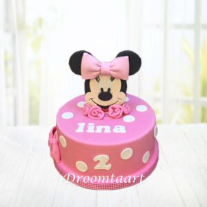 Droomtaart Minnie Mouse taart 1