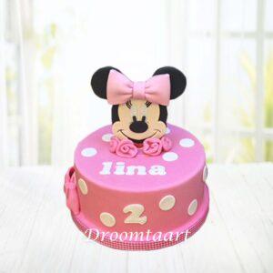 Droomtaart Minnie Mouse taart 1