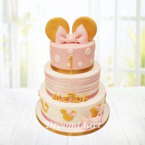 Droomtaart Minnie Mouse taart 11