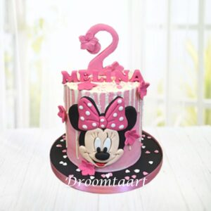 Droomtaart Minnie Mouse taart 5