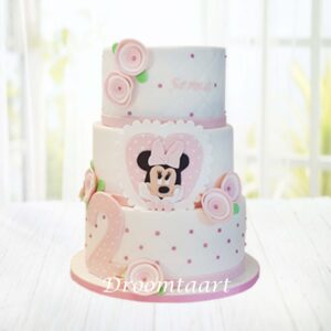 Droomtaart Minnie Mouse taart 6