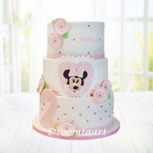 Droomtaart Minnie Mouse taart 6