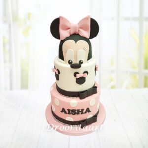Droomtaart Minnie Mouse taart 7
