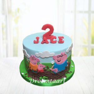 Droomtaart Peppa Pig taart 2