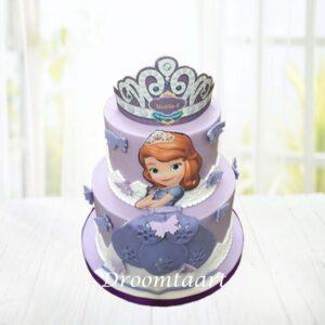 Droomtaart Prinses Sophia taart