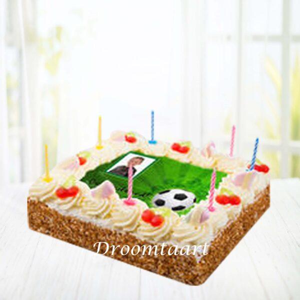 Slagroomtaart Voetbal
