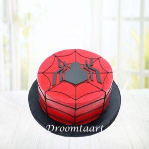 Droomtaart Spiderman taart 1