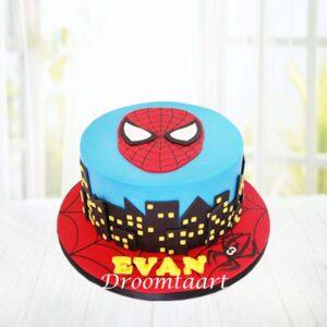 Droomtaart Spiderman taart 2
