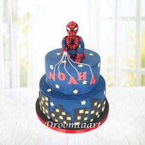 Droomtaart Spiderman taart 5