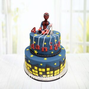 Droomtaart Spiderman taart 6