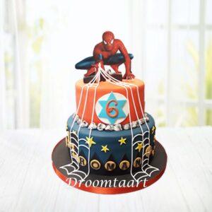 Droomtaart Spiderman taart 7 (2D figuur)