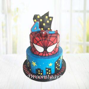 Droomtaart Spiderman taart 8