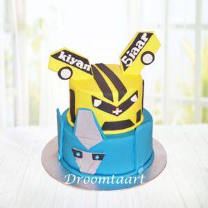 Droomtaart Transformers taart 2