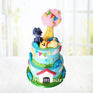 Droomtaart Woezel en Pip taart 10