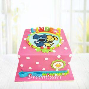 Droomtaart Woezel en Pip taart 4