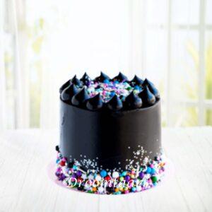 Droomtaart Zwarte sprinkel taart