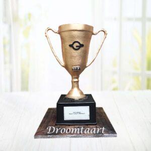 Droomtaart 3D kampioenstaart