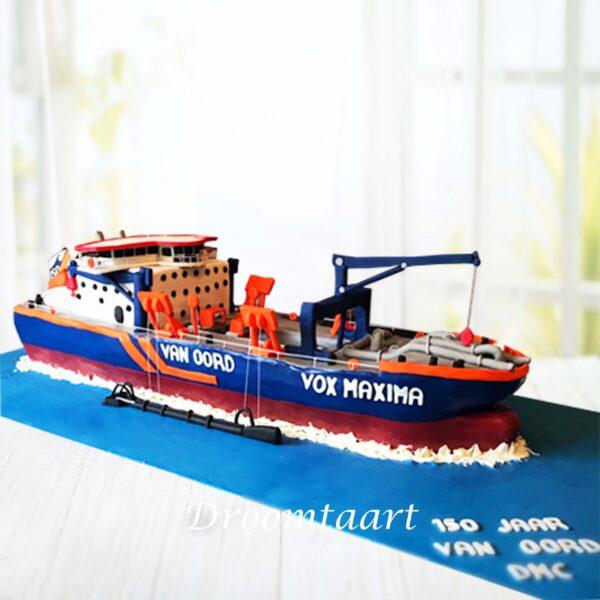 3D schip taart