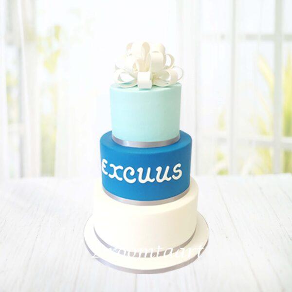 Droomtaart Excuus taart