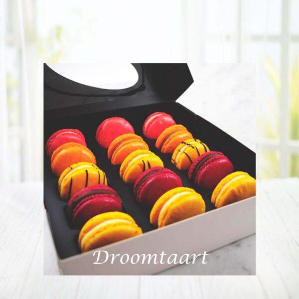 Droomtaart Fruit macarons