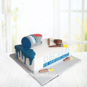 Droomtaart Schilders taart