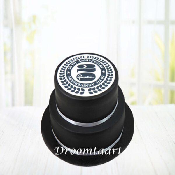 Logo taart 2 lagen 0