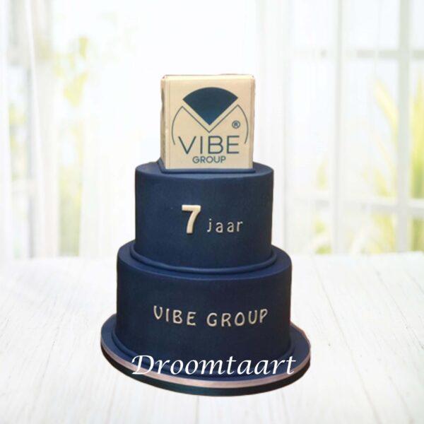 Logo taart 2 lagen 3