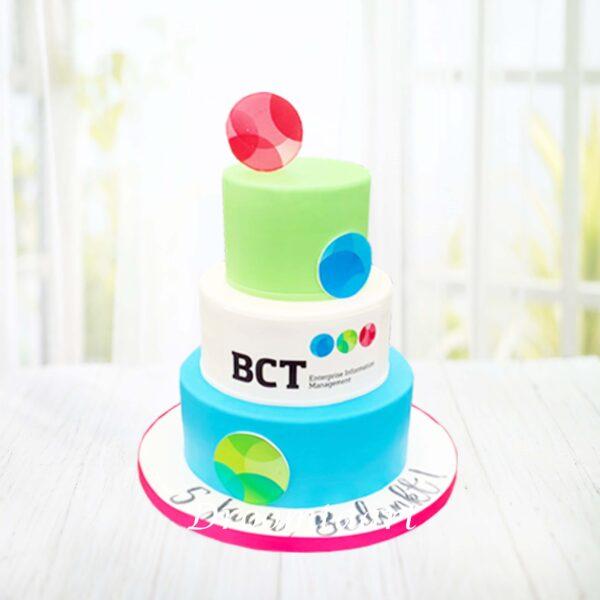 Logo taart 3 lagen