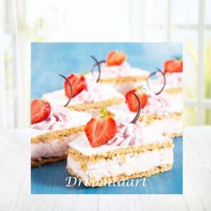 Droomtaart Tompouce met fruit