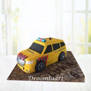 Droomtaart Ambulance taart 3D