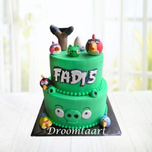 Droomtaart Angry Birds taart 2