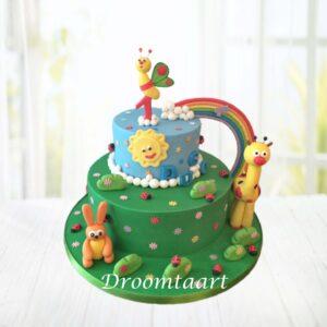 Droomtaart Babytv taart 1
