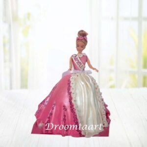 Droomtaart Barbie taart 1