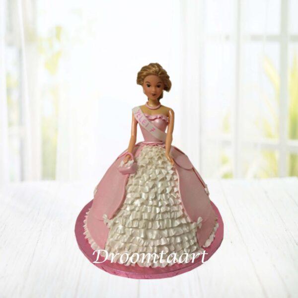 Barbie taart 2