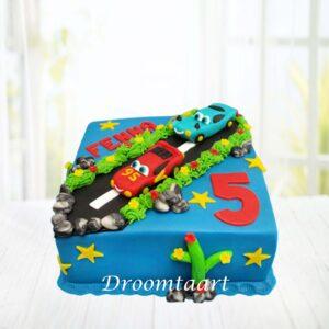 Droomtaart Cars taart 3