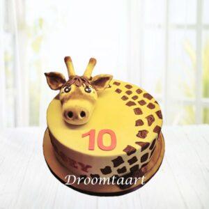 Droomtaart Dieren taart giraffe 1