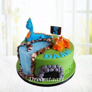 Droomtaart Dino taart 3