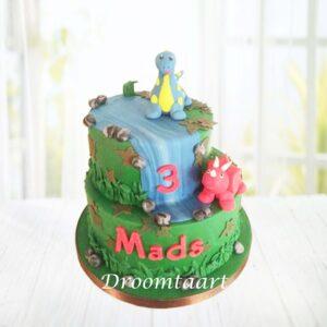 Droomtaart Dino taart 7