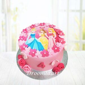 Droomtaart Disney Prinsessen taart 2