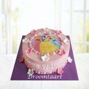 Droomtaart Disney prinsessen taart 1