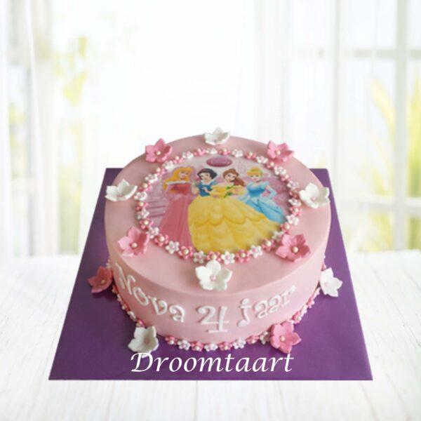 DroomtaartDisneyprinsessentaart