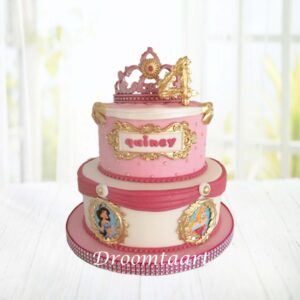 Droomtaart Disney taart Disneyprinsessen 3