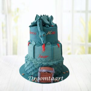 Droomtaart Draken taart 2