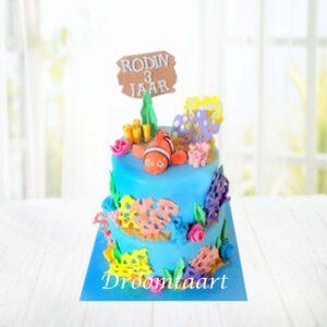 Droomtaart Finding Nemo taart 2